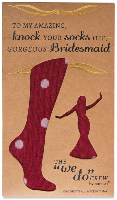 Ladies Cotton Blend Sock - Maroon
