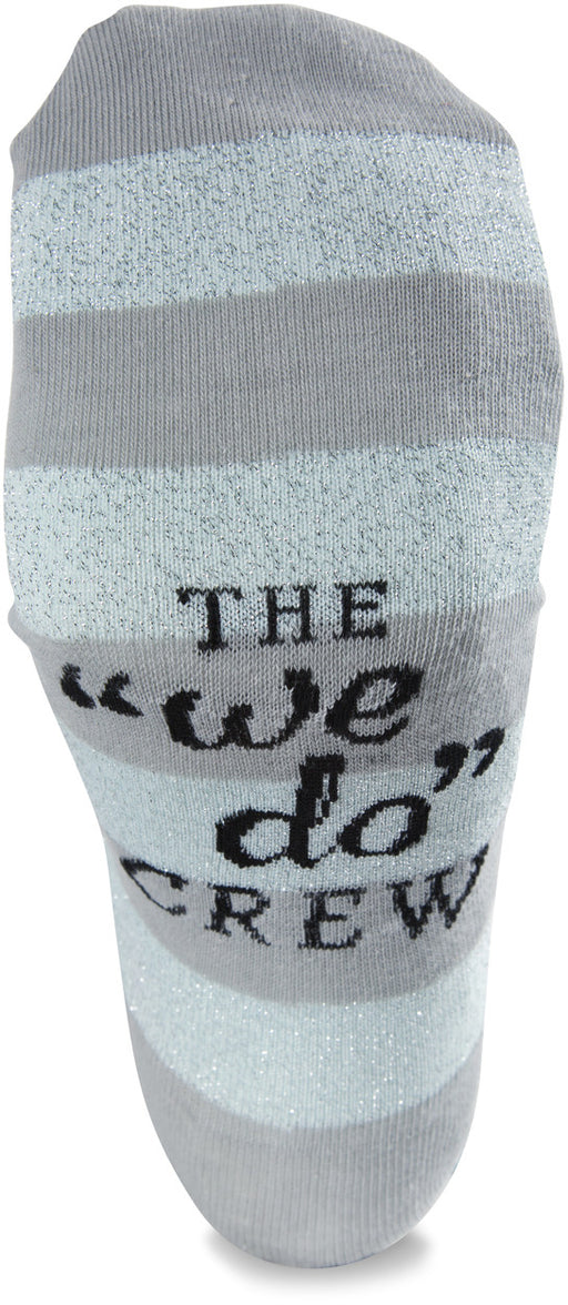 Mens Cotton Blend Sock - Silver