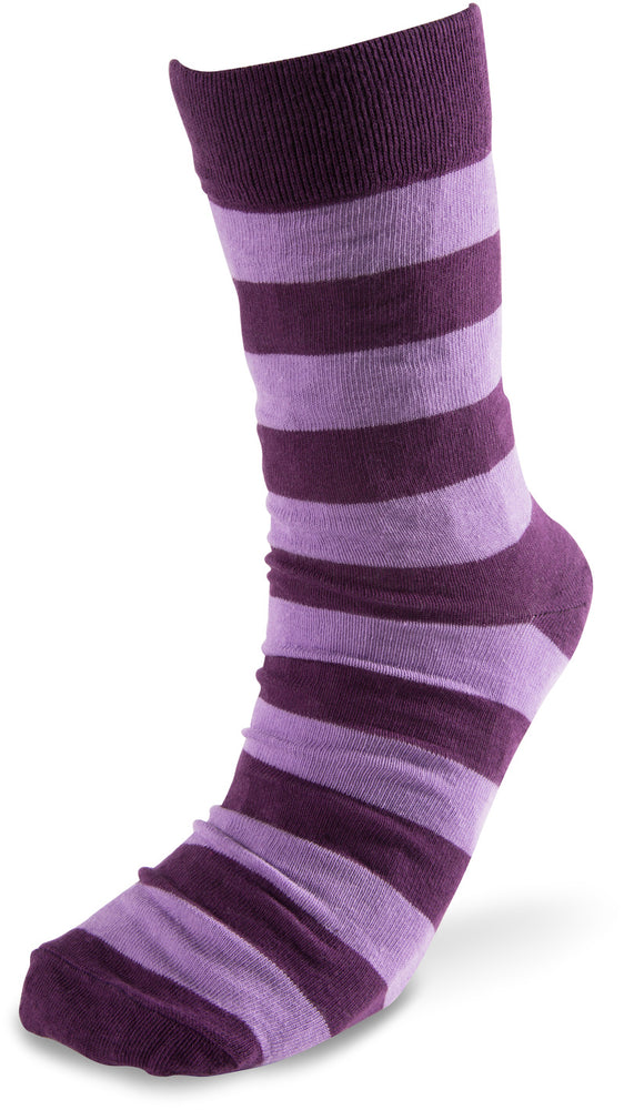 Mens Cotton Blend Sock - Purple