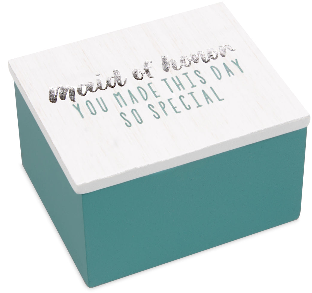 Maid of Honor Trinket Box