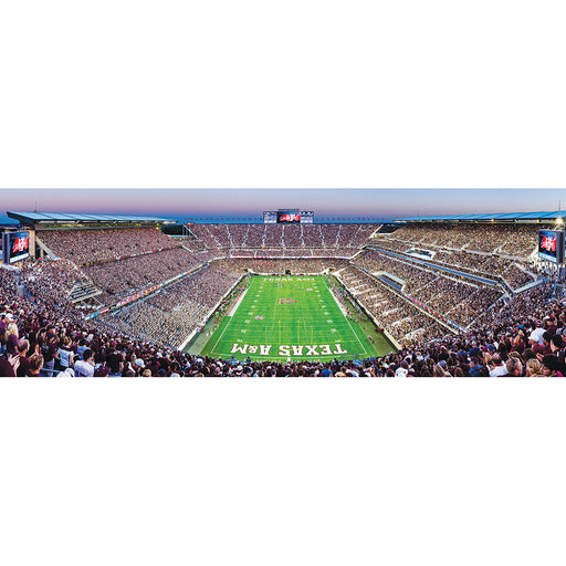 Texas A&M 1000 Piece Panoramic Jigsaw Puzzle