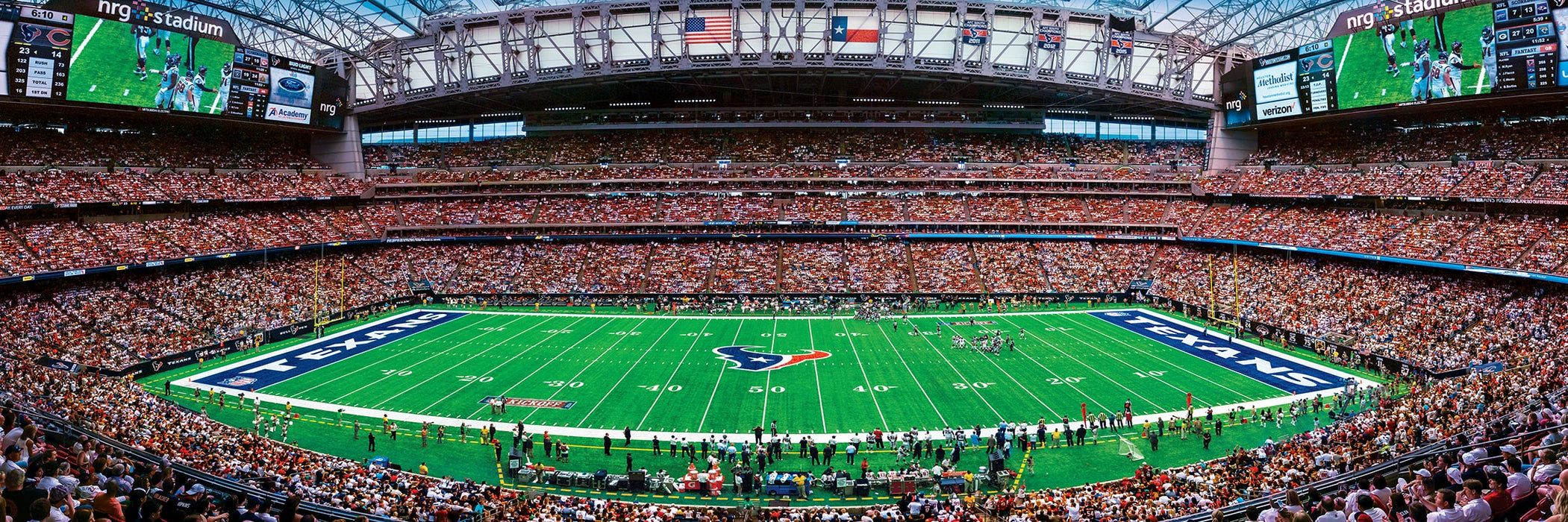 Houston Texans 1000 Piece Panoramic Jigsaw Puzzle