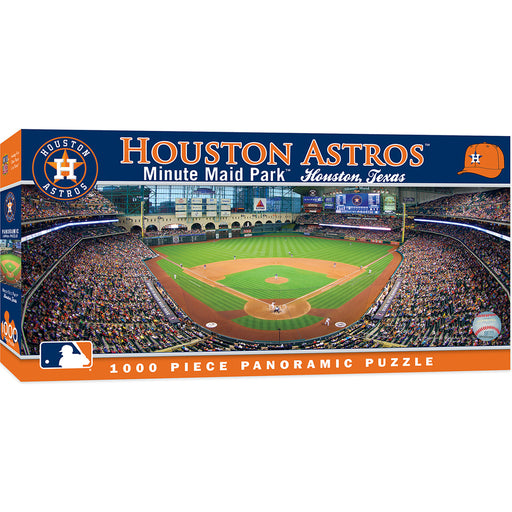Houston Astros 1000 Piece Panoramic Jigsaw Puzzle