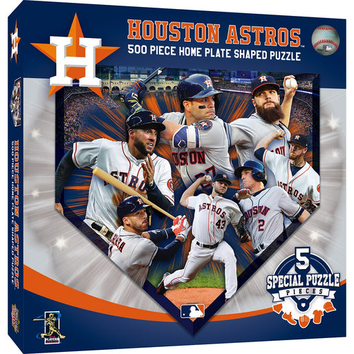 Houston Astros Shaped 500 Piece Jigsaw Puzzle
