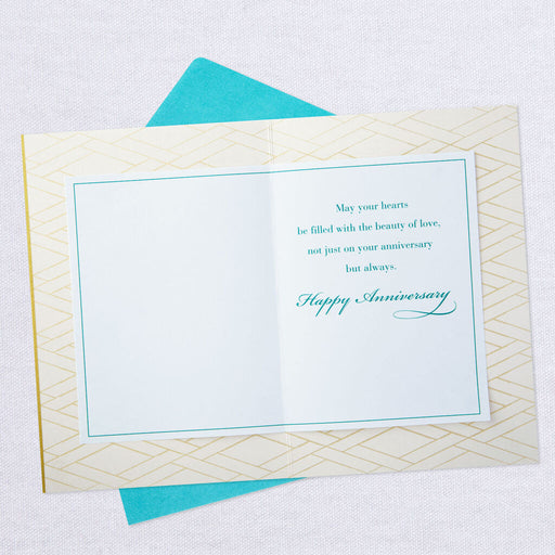 Beauty of Love Anniversary Card