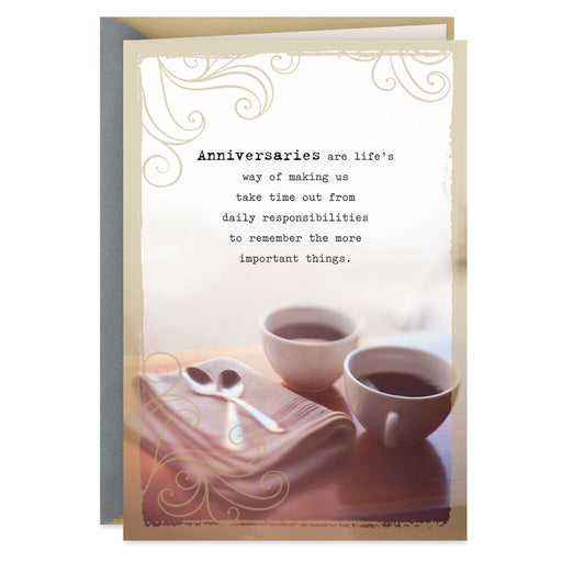 Take Time Out to Enjoy Each Other Anniversary Card