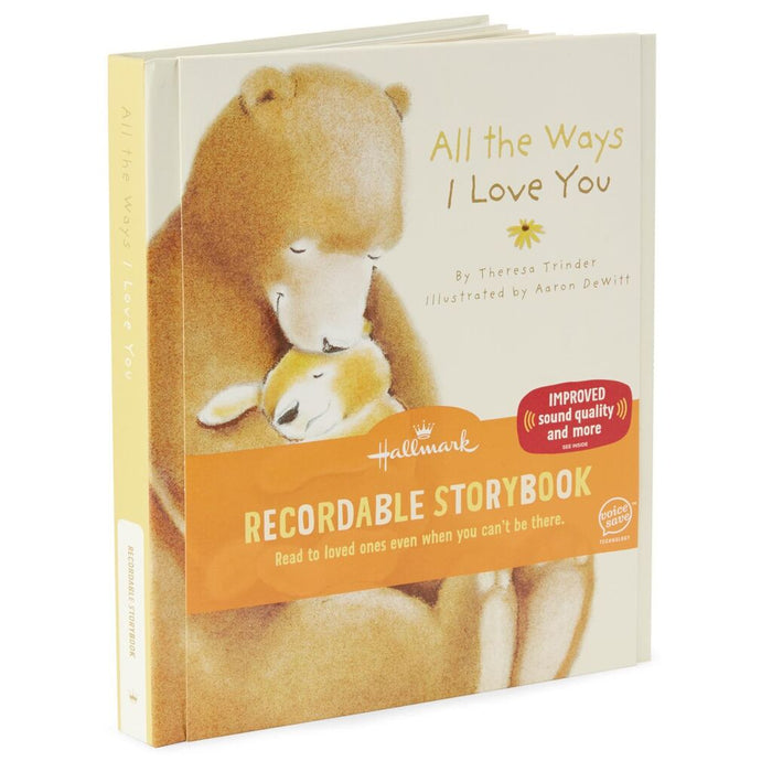 All The Ways I Love You Recordable Storybook