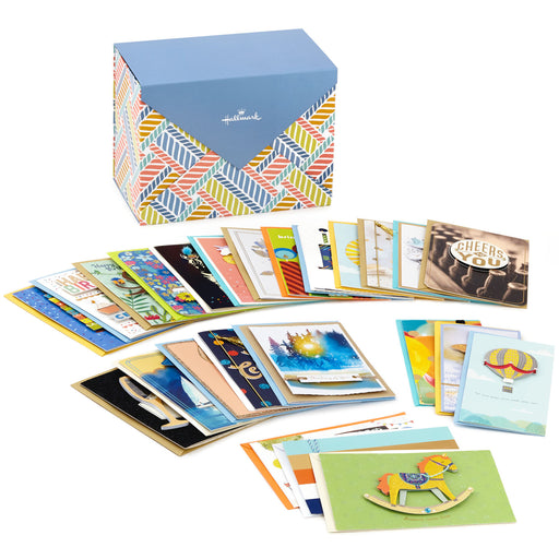 Assorted All-Occasion Cards in Organizer Box