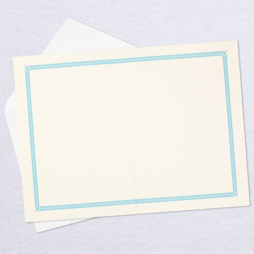 Art Deco Flower Blank Thinking of You Card
