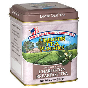 Charleston Breakfast Tea Loose Tea Tin