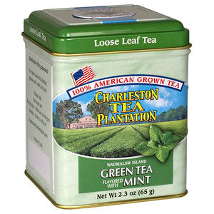 Wadmalaw Green Tea Mint Loose Tea Tin