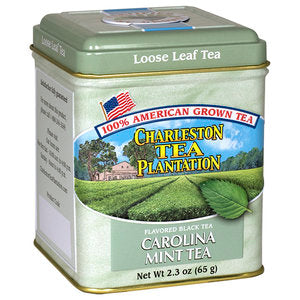Carolina Mint Black Tea Loose Tea Tin