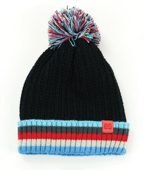 Play All Day Plush-Lined Pom Hat