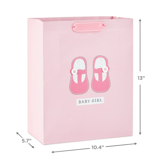 Baby Girl Shoes Large Gift Bag