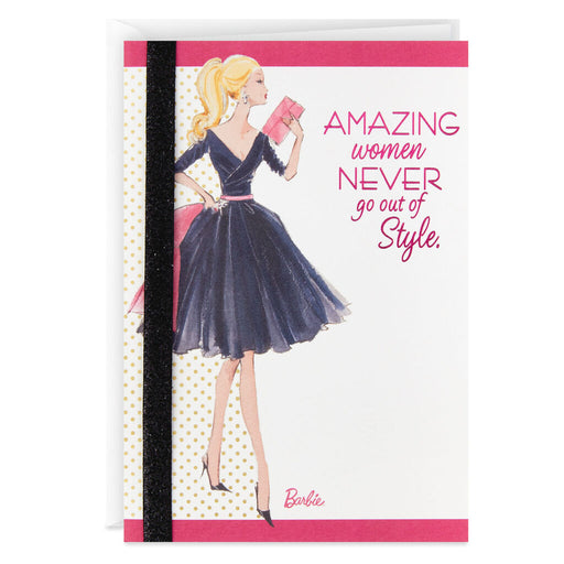 Barbie™ Never Out of Style Blank Thinking of You Card for Her