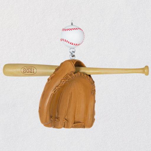 Baseball Star 2021 Ornament