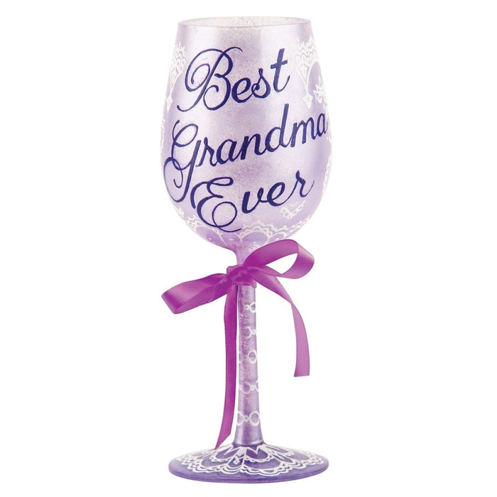 Best Grandma Ever Lolita Wine Glass