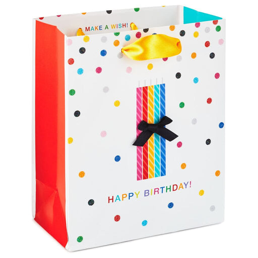 Birthday Candles Gift Bag