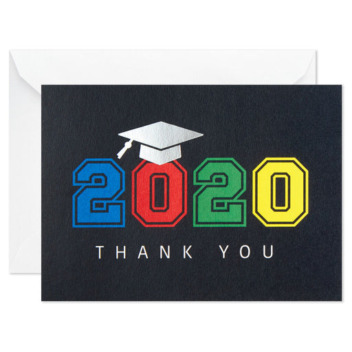 Bold 2020 Graduation Thank-You Notes