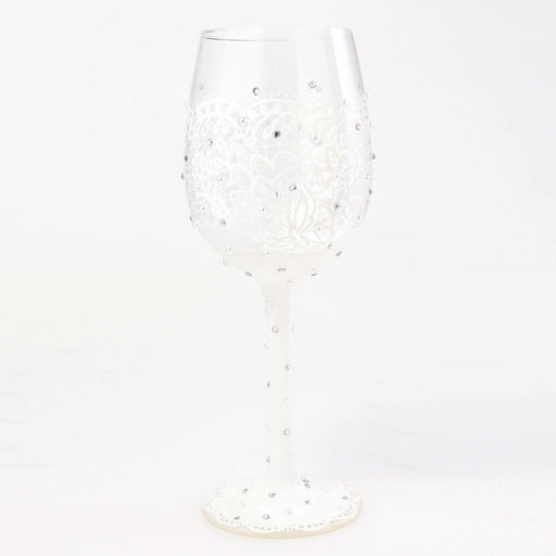 Bride Lolita Wine Glass