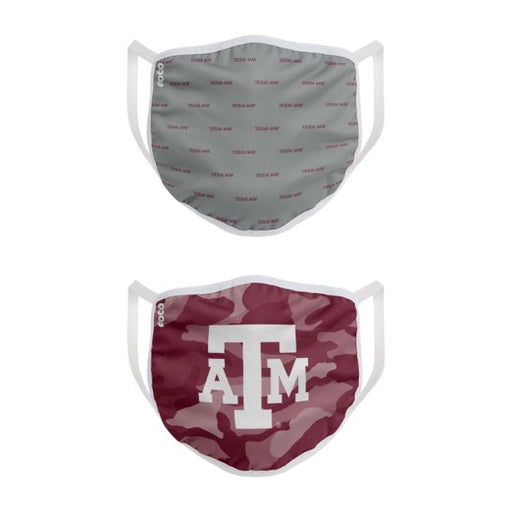 Texas A&M 2 Pack Face Mask