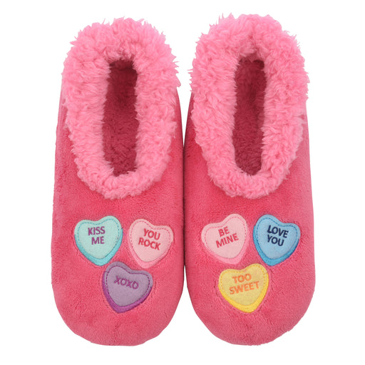 Candy Hearts Snoozies! Slippers