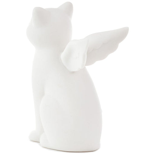 Cat Angel Figurine