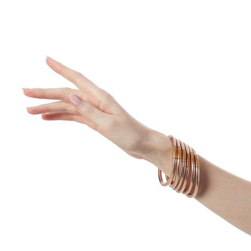 Budha Girl All Weather Bangle in Champagne