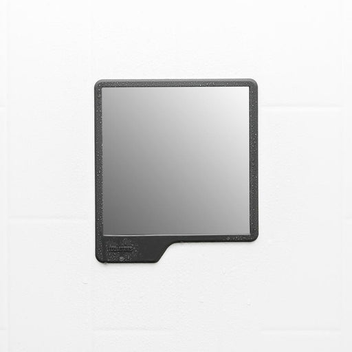 The Oliver Shower Mirror in Charcoal