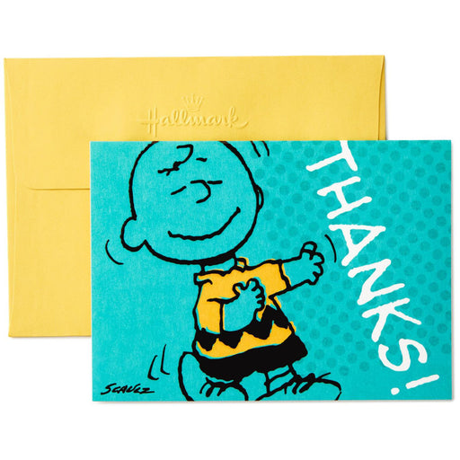 Charlie Brown Thanks! Thank You Notes