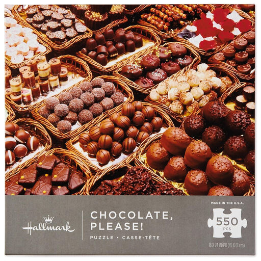 Chocolate, Please! 550 Piece Puzzle