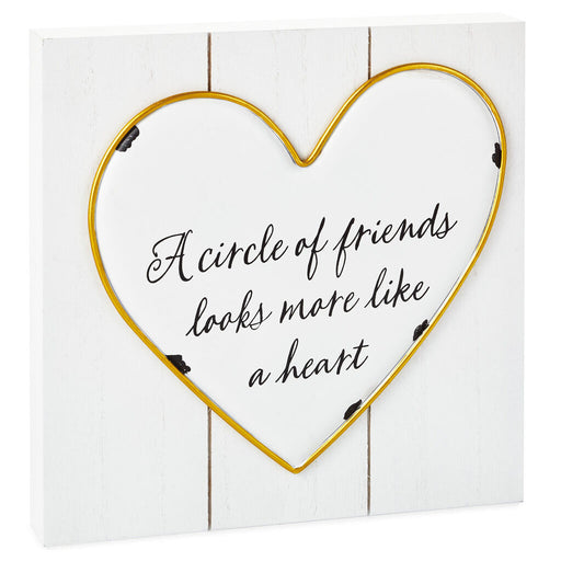 Circle of Friends Heart Sign