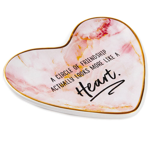 Circle of Friendship Heart Trinket Dish