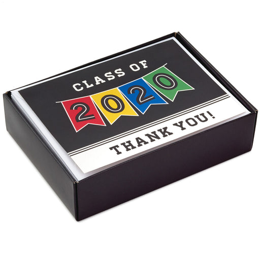 Class of 2020 Pennant Graduation Thank-You Notes
