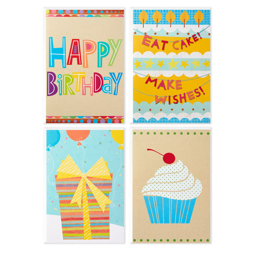 Colorful Assorted Birthday Cards