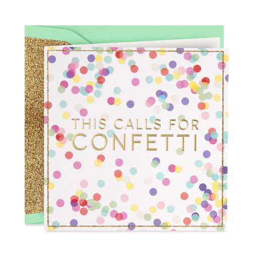 This Calls for Confetti Congratulations Card