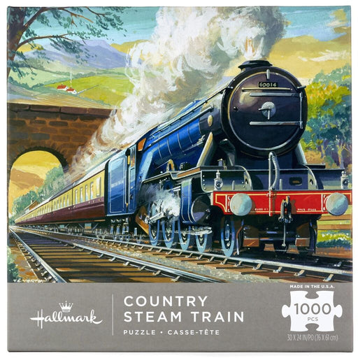 Country Steam Train 1000 Piece Puzzle