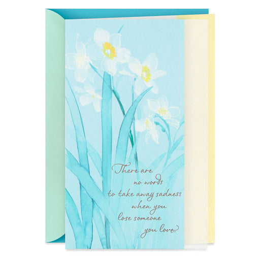 Daffodil Wishes Sympathy Card