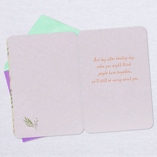 Day After Healing Day Thinking of You Card