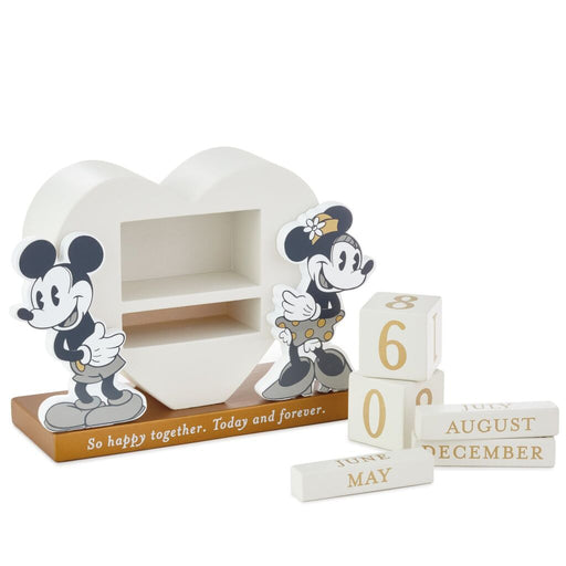 Happy Together Mickey and Minnie Perpetual Calendar
