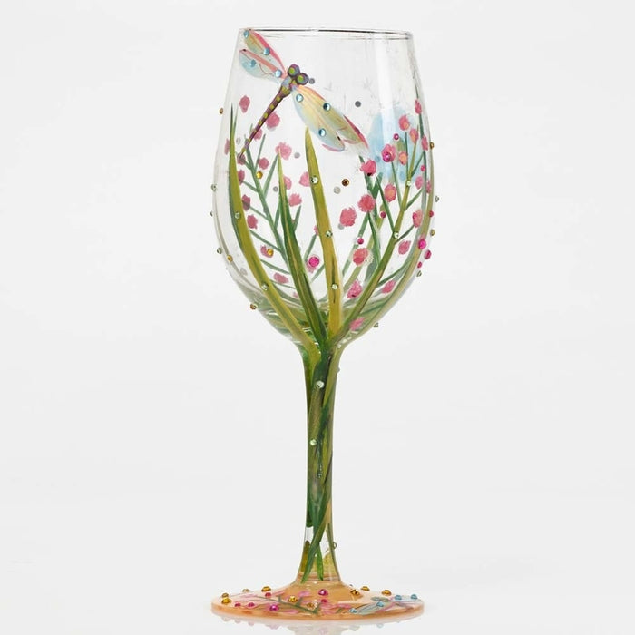 Dragonfly Lolita Wine Glass