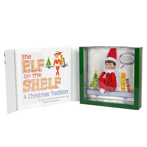 Light Skinned Girl Elf and English Book