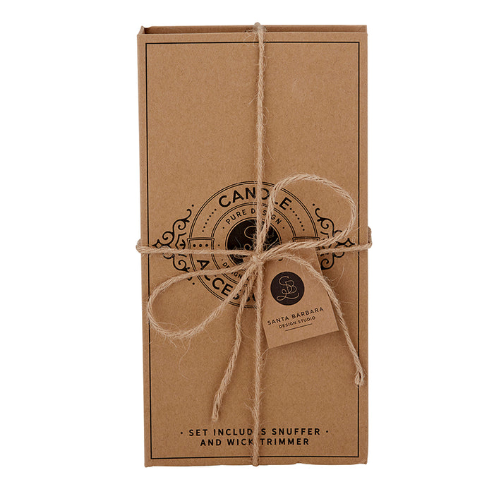 Candle Accessory Cardboard Book Set