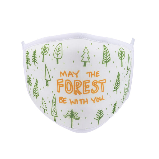 May The Forest Be With You Face Mask