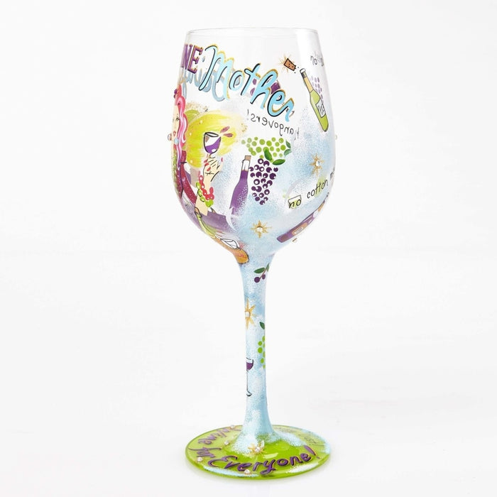 Fairy Wine Mother Lolita Wine Glass