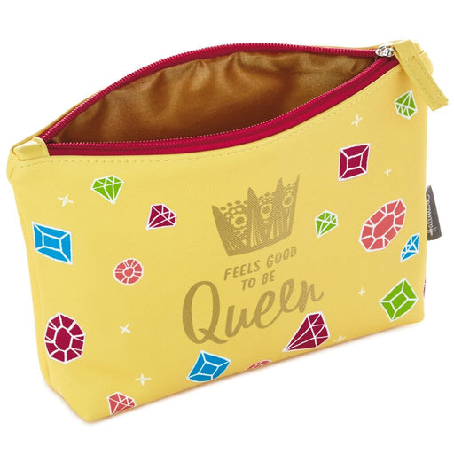 Feels Good to Be Queen Zippered Pouch