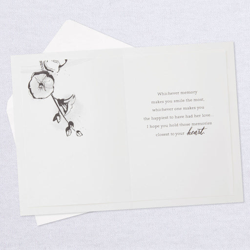 Forever Remembered, Forever Loved Sympathy Card