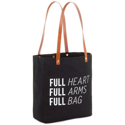 Full Heart Full Arms Tote Bag