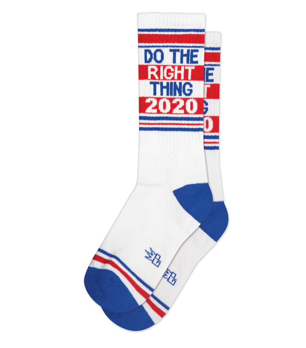 Do The Right Thing Gym Socks