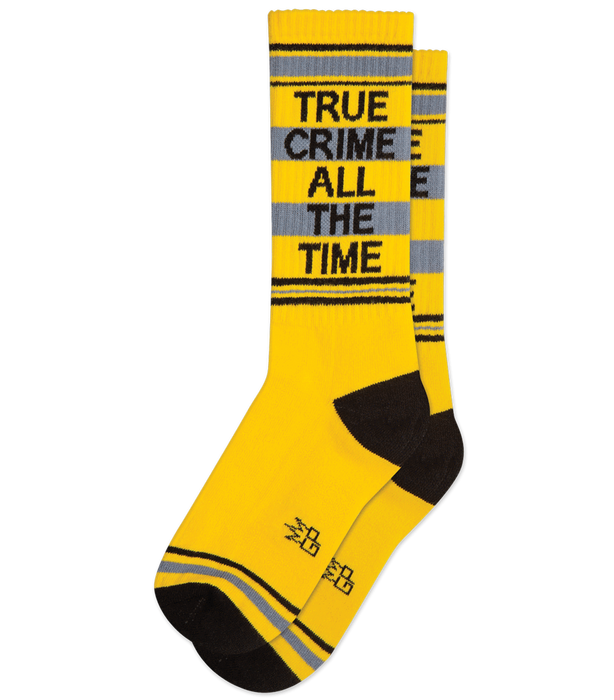 True Crime Gym Socks
